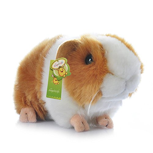 Cuddly Big Soft Toys Emulation Yellow Guinea Pigs Doll 7