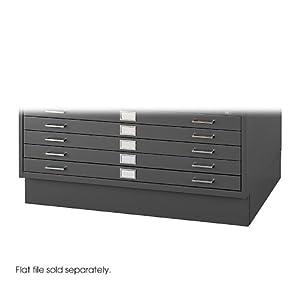 Amazon Com Safco Products 4997blr Flat File Closed Base