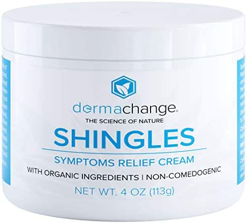 Organic Shingles Treatment and Relief Cream - with Manuka Honey - Shingle Nerve Pain Ointment - Natural Moisturizer for Face and Body - Stops Shingle Breakouts, Burning, Scar and Itchy Dry Skin (4oz)