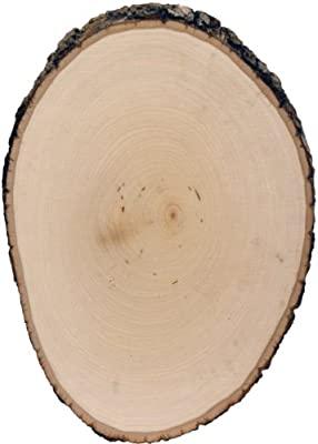 Walnut Hollow 5509 Basswood Country Round Plaque 8.5-9.5
