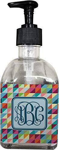 YouCustomizeIt Retro Triangles Soap/Lotion Dispenser (Glass) (Personalized)