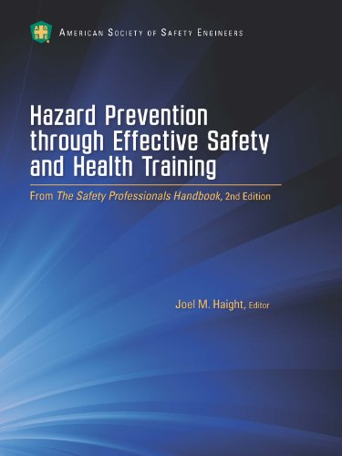 Hazard Prevention through Effective Safety and Health Training