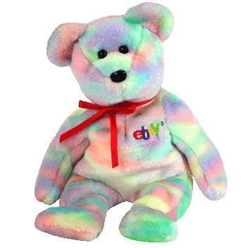 TY Beanie Baby - BIDDER the Bear (Ebay & TY Credit Card Exclusive) [