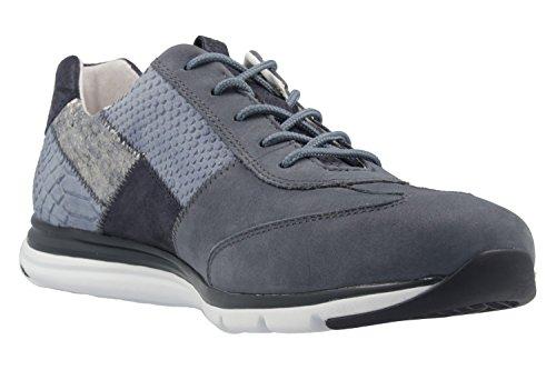 Gabor Womens Shoes 66.306.36 Sneakers Da Donna, Stringate, Stringate Avio Kombi