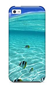 High Quality GTzIbSE3567FHfKx Wave Of Fishes Tpu Case For Iphone 5c