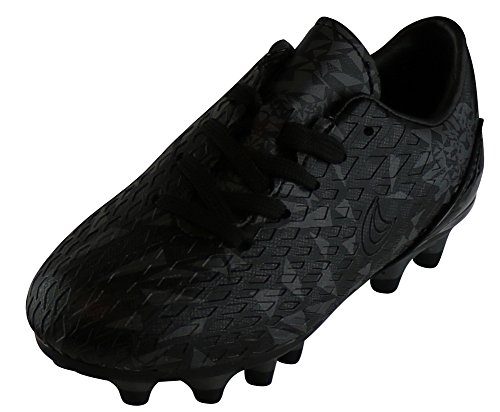 Image of Cambridge Select Kids Lace-up Cleats Soccer Shoe (Toddler/Little Kid/Big Kid),10 M US Toddler,Black