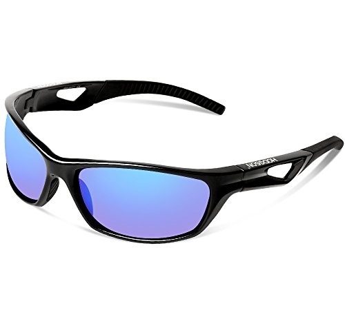 HODGSON Sports Polarized Sunglasses for Men or Women, UV400 Protection Unbreakable Sports Glasses for Cycling, Baseball, Riding, Driving, Running, Golf and Other Outdoor - Riding Bike Sunglasses For