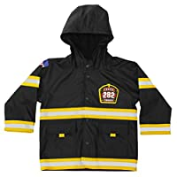 Western Chief Kids Soft Lined Character Rain Jackets, F.D.U.S.A., 5