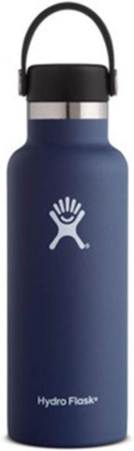 ZYLLL Botella de Agua Acero Inoxidable y Boca estándar con Aislamiento al vacío con Tapa Flexible a Prueba de Fugas