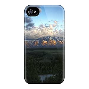 RogerKing Case Cover Protector Specially Made For Iphone 4/4s Snake River In Grand Teton National Park 11564