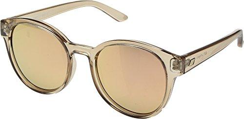 Le Specs Women's Paramount Sunglasses, Tan/Brass Revo Mirror, One - Eyewear Specs Le