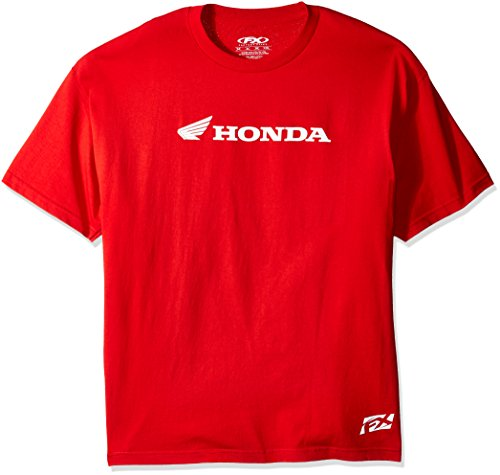 Factory Effex 15-88336 Honda' Horizontal T-Shirt (Red, XX-Large) (Honda Motorcycle Shirts)