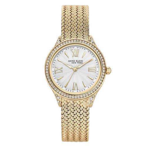 NEW Anne Klein New York Swarovski Crystal Women's Watch 12/2
