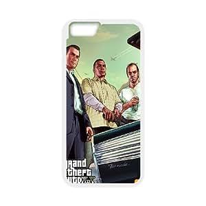iPhone 6 Plus 5.5 Inch Cell Phone Case White GTA 5 Car Trunk JNR2067827