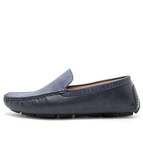 London Footwear - Sandalias con cuña hombre Azul