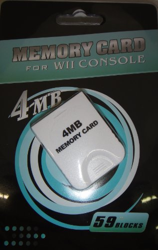 Ngc Memory Card 4mb For Wii and Game Cube