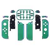 eXtremeRate Chameleon Green Purple Joycon Handheld