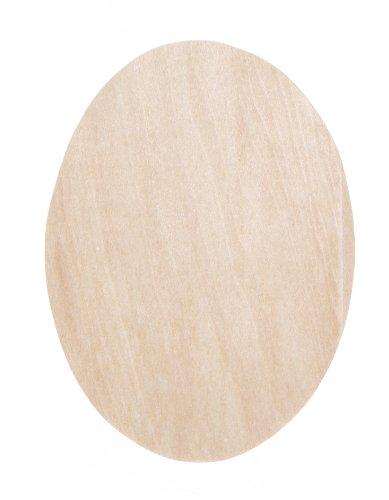 Darice 9171-72 Wood Oval Sign Shape