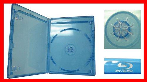 12.5 mm Viva Elite Blu-ray Single Disc Case Standard Size Hold 1 Disc (Pack of 6)