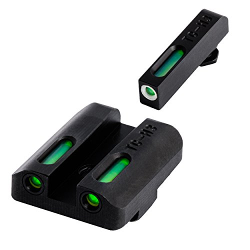 TruGlo TFX Glock Low Set Tritium/Fiber-Optic Day/Night Sight, Green