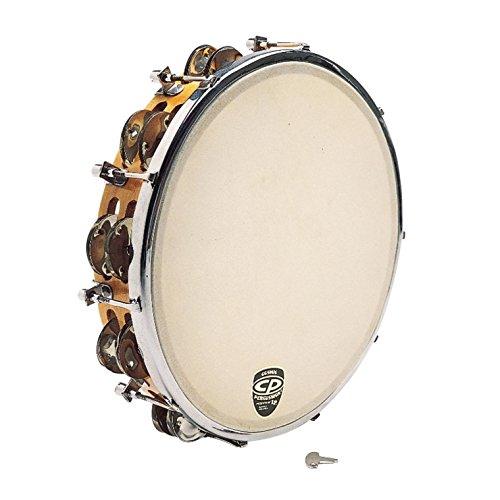 CP391 10 Tunable Tambourine, Wood LP