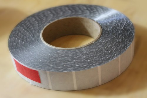 ShipFrog CLT10 Wafer Tab Seals, 1 inch Diameter, Translucent without Perf, 5,000 per Roll