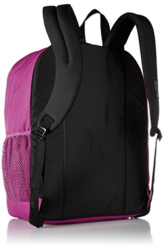 """JanSport Big Student Backpack 2 Functional lightweight backpack featuring double main compartments, mesh side pocket, front pocket with organizer, padded back, and ergonomic S-curved straps Shoulder strap length: 34.5"""" Handle has a drop of 3.25"""" and a length of 8.5"""""""