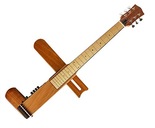 Cross Guitar 2.0: Folding/Foldable Acoustic Steel-String Acoustic/Electric Travel Guitar Silent Guitar with Gig Bag