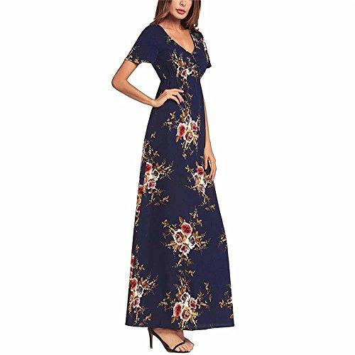 De Plage XXL D't l DYEWD Xl De Robes Soie Robes Sexy en Robes Nouveau La Imprimes Robes De Robes Robes Robes 2018 Mode Robes Femme Mousseline No 78Az4x8w