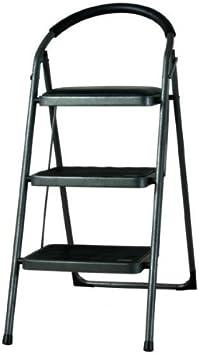 Escalera metálica de 3 peldaños: Amazon.es: Bricolaje y herramientas