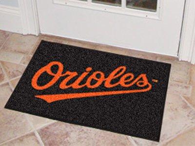 MLB - Baltimore Orioles Starter Rug (Baltimore Orioles Baseball Rug Mlb)