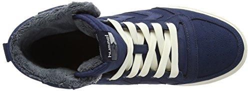 Hummel Stadil Winter Hi, Alte Scarpe da Ginnastica, Unisex Blu (Blu (Vestito Blu 7459))
