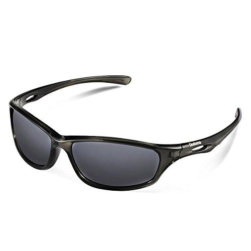 Duduma Polarized Sport Mens Sunglasses for Baseball Fishing Golf Running Cycling with Fashion Women Sunglasses and Men Sunglasses Tr650 Flexible Superlight Frame