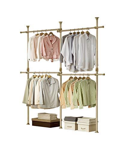 PRINCE HANGER   Premium Wood Double 2 Tier Hanger   Clothing Rack   Closet Organizer