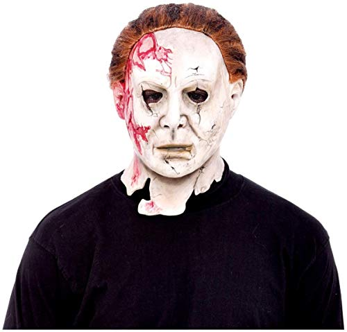 Don Post Studios Rob Zombie Halloween 2 Movie Michael Myers Mask]()