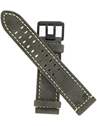 Luminox Distressed Leather Brown Field strap #FE.L.1820.70B
