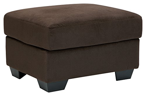 Signature Design by Ashley 3340114 Kinlock Ottoman, Chocolate price