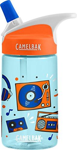 CamelBak Eddy Kids Water Bottle, Vinyl Party, .4 L