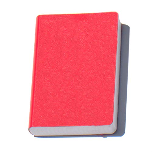 Miquelrius Soft Bound Journal, Red (6 x 8, Lined 300 SHEETS/600 PAGES)