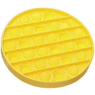 Rpaio Push pop Bubble Squeeze Sensory Toy, Push Pop Pop Bubble Sensory Fidget Toy, Pop It Figit Toy Fidget Toys Autism Special Needs Stress Reliever, Push Bubble Gadgets (Color : Yellow)
