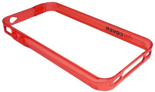 avci Base My Cover bumper Housse pour Apple iPhone 4/4S Rouge