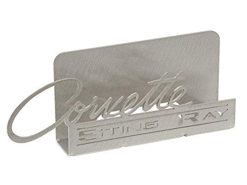 1963-1965 Corvette Business Card Holder Sting Ray Emblem C2