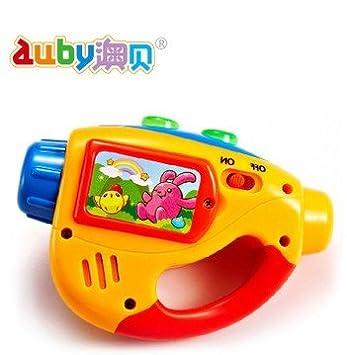 Amazon.com: Audy luz bebé sueño bebé juguetes Mini proyector ...