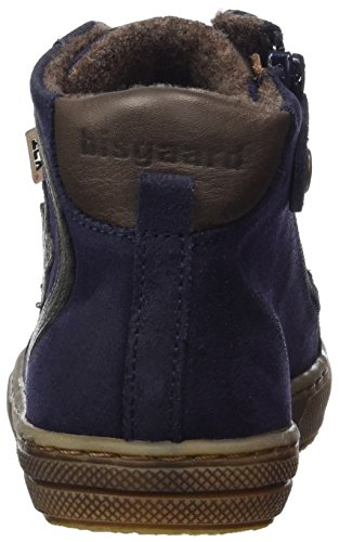 Bisgaard Unisex-Kinder Schnürschuhe Hohe Sneaker Blau (606 Blue)