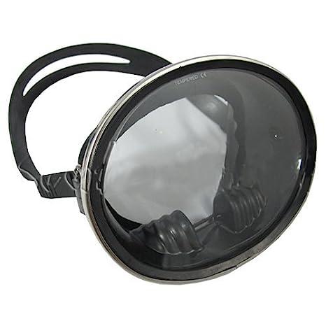 Old School Classic Oval silicona Máscara de Buceo Snorkel