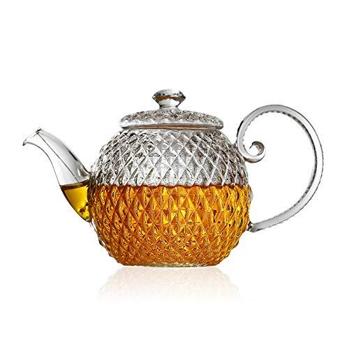 Teiera In Vetro Teiere Brocche Tazza Elegante Teiera Galleggiante Teiera In Vetro Resistente Al Calore Filtro Per Teiera Tazza Di Tè Kung Fu Tea Set Prezzi