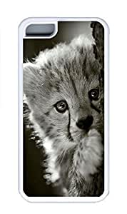 iPhone 5C Case, Personalized Custom Rubber TPU White Case for iphone 5C - Have A Look Cover