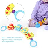 Baby Rattles, Bright Colors Cute Animal Shapes Hand