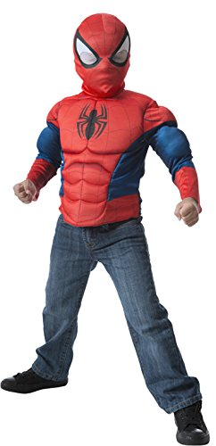 Imagine by Rubies Ultimate Spider-man Classic Muscle Chest Shirt