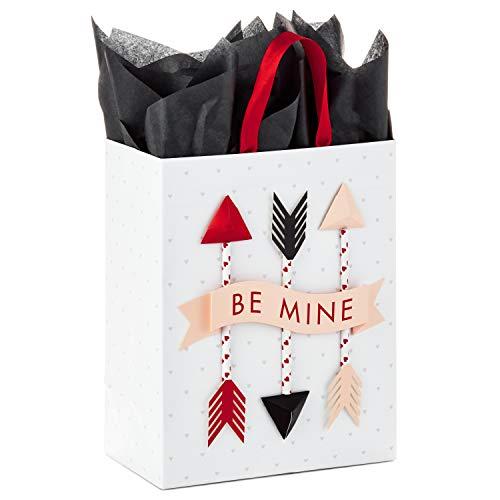 Hallmark Paper Wonder Medium Valentine's Day Gift Bag with Tissue Paper (Be Mine ()